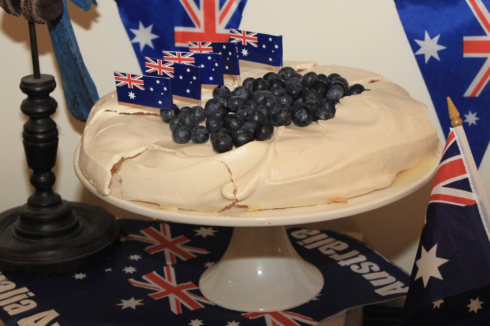 Blueberry Pavlova - Australia Day