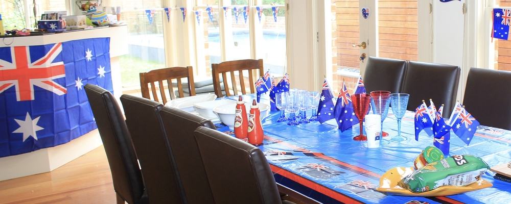 Australia Day Decorating Ideas