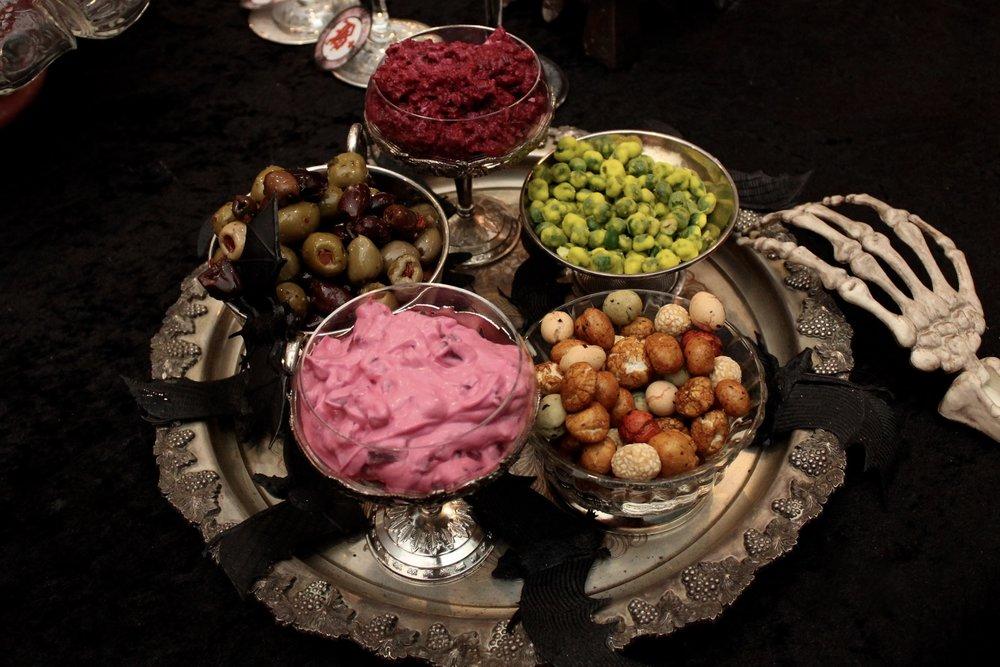 Halloween Dip Platter
