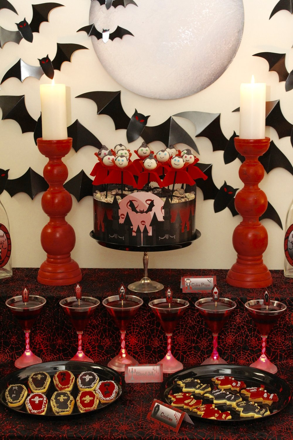 Vampire Cake Pops and Cookies
