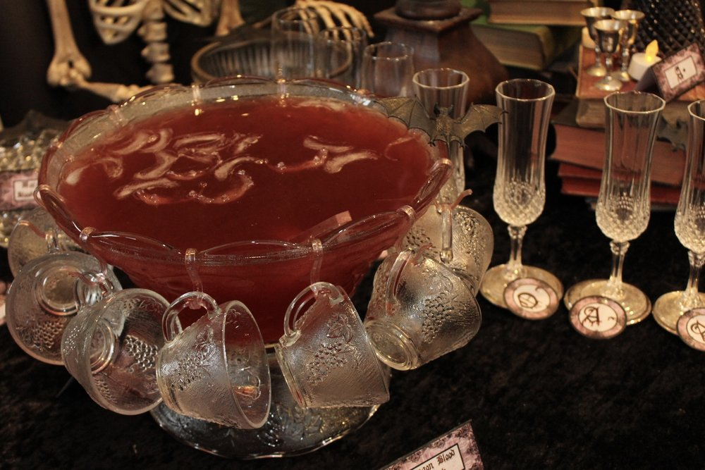 Halloween Dragon Blood Punch - Vampire Party