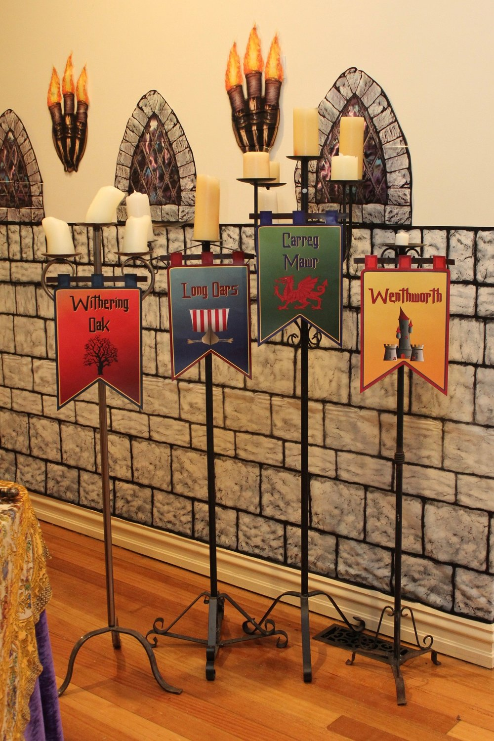 Medieval Dinner Party Banners