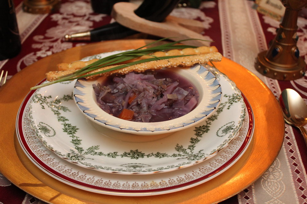 Medieval Dinner Party Soup - Pottage