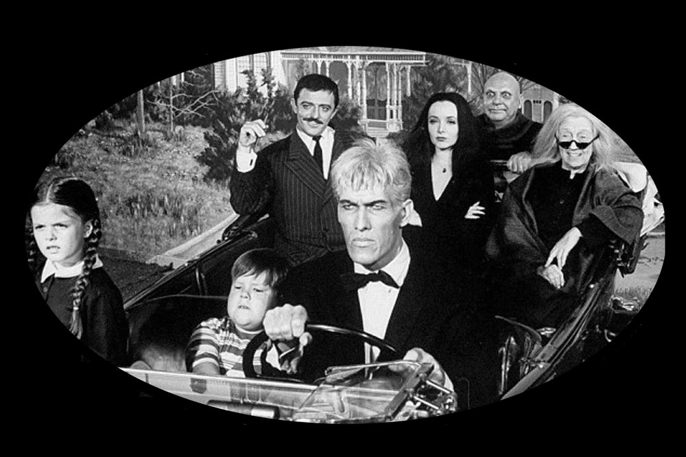 The Addams Family, Use old images as Photos