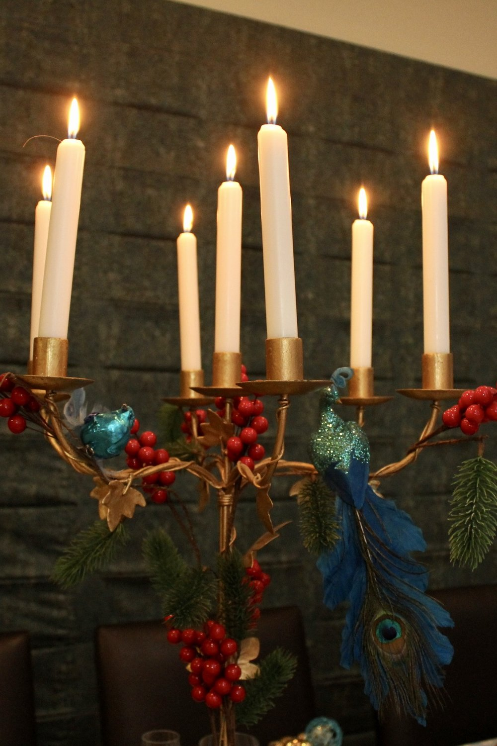 Blue and Gold Christmas ideas