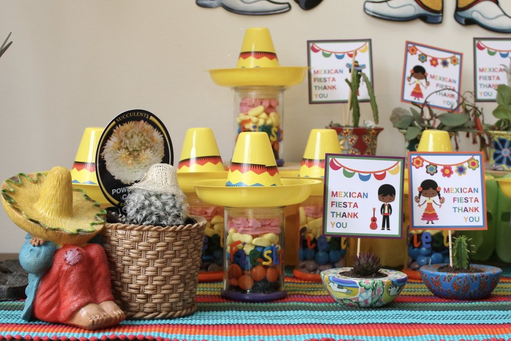 Mexican Party Favours