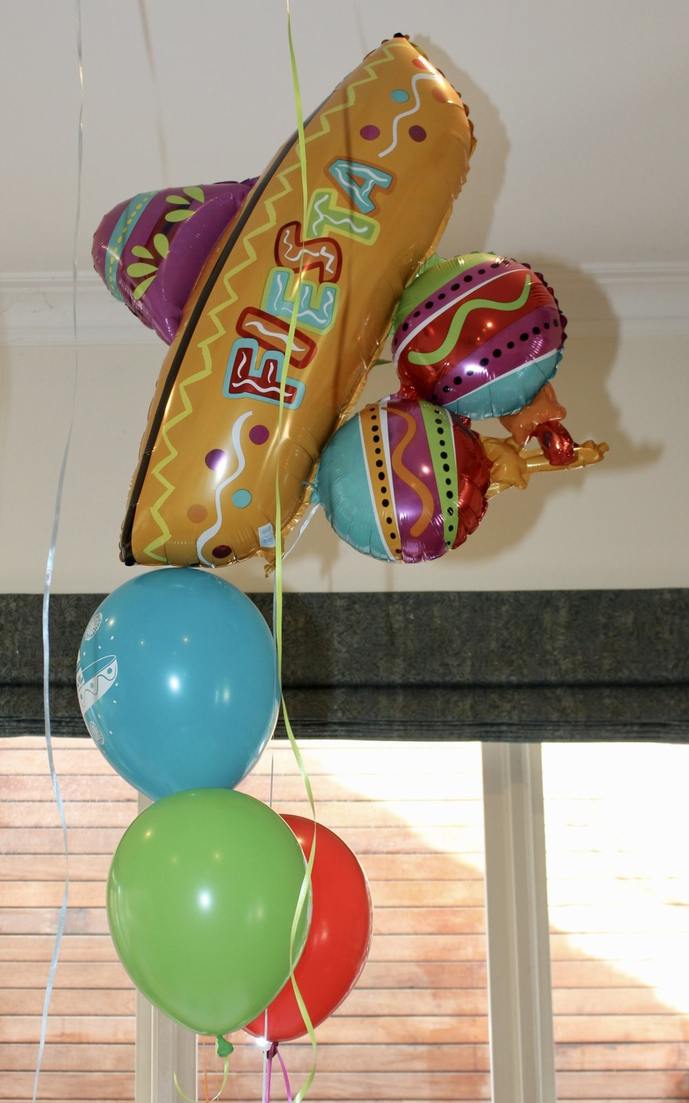 Mexican Party Balloons