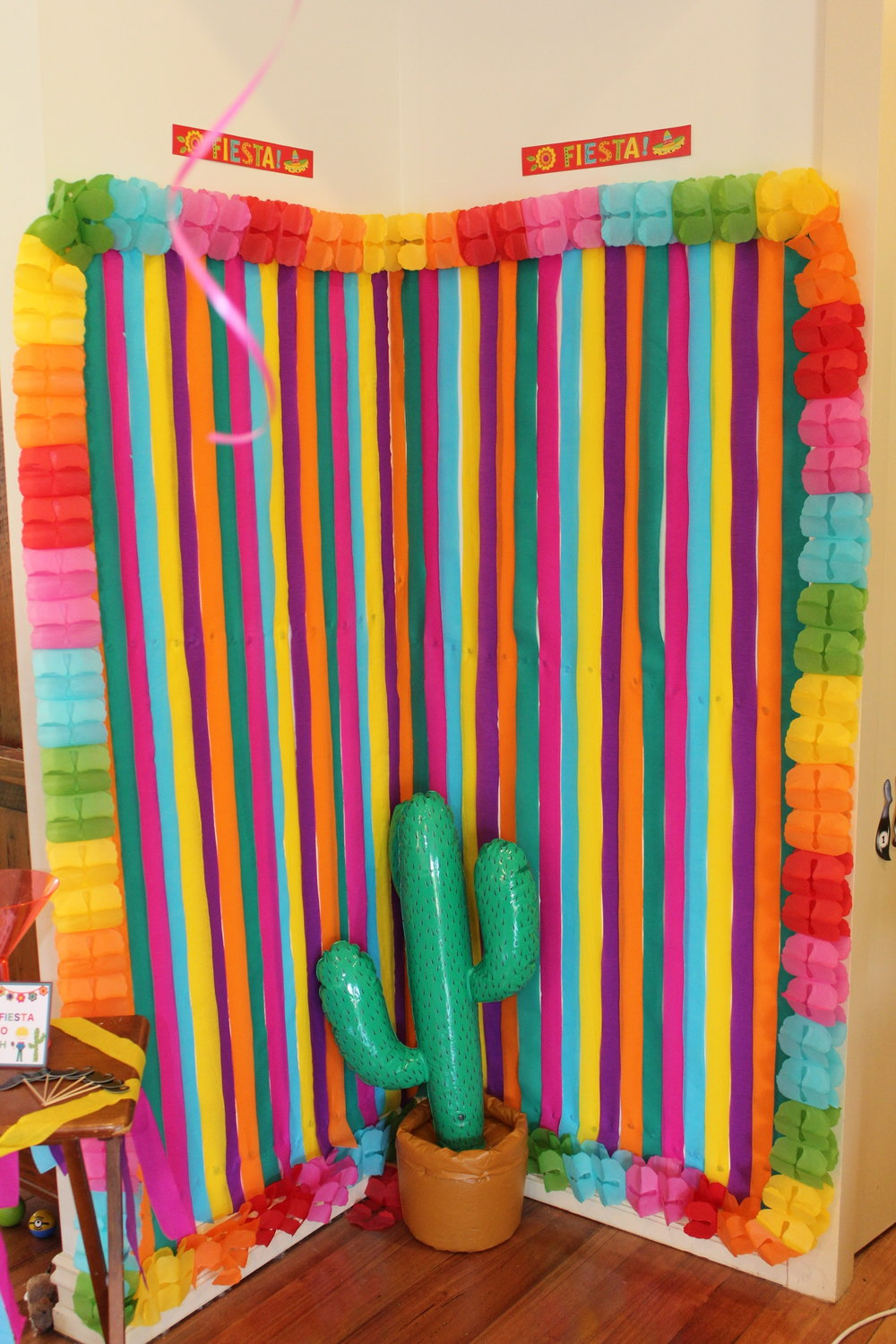 Mexican Party Photo Booth