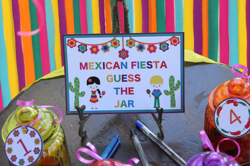 Mexican Party Games