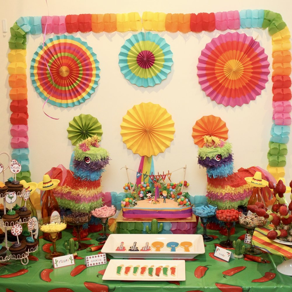 Mexican party Dessert Table
