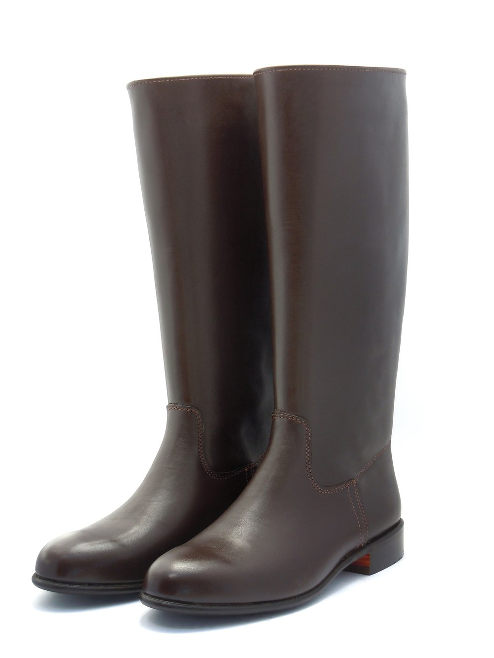 Polocrosse Boots with Flat Tops (Pull-On)