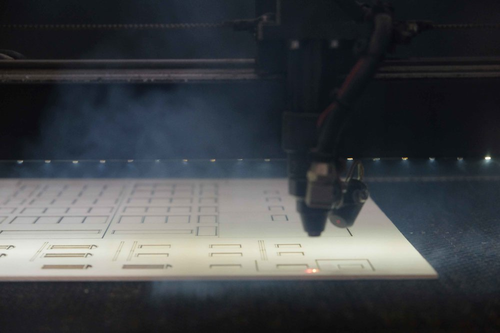 Laser cutting - We provide a reliable, fast and professional laser cutting service, shipping Australia wide. Check out our range of services over at Make Fab (fabrication)