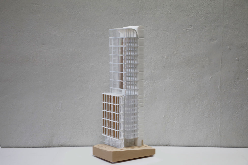 220 George Street Winning Competition Model / Grimshaw Architects