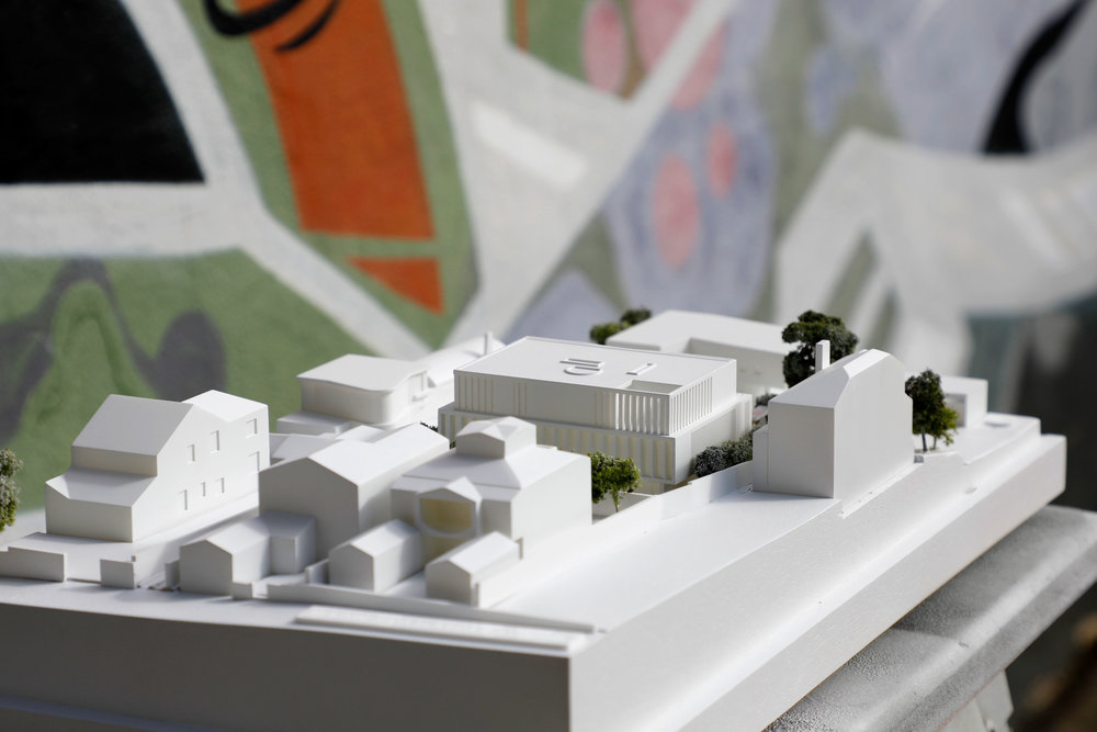 DA Model / Bruce Stafford Architects