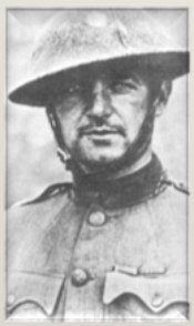 Major William Donovan in France, 1918