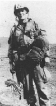 Second Lieutenant Richard Winters, of Band of Brothers fame, in 1942.  Image courtesy of Wikipedia.