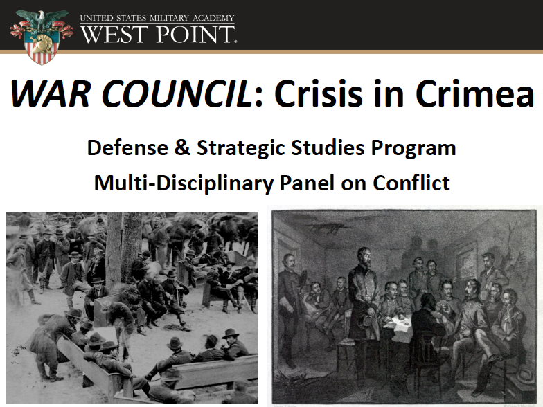 Image depicted is from first slide from War Council on March 7, 2014.