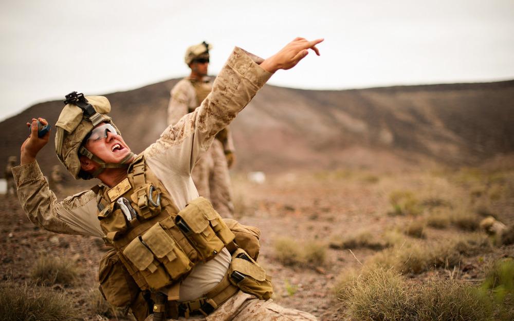 Image courtesy of Flikr user United States Marine Corps.