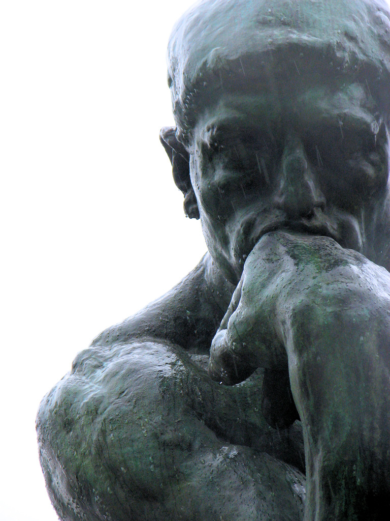 Image of Rodin's Thinker courtesy of Wikipedia.
