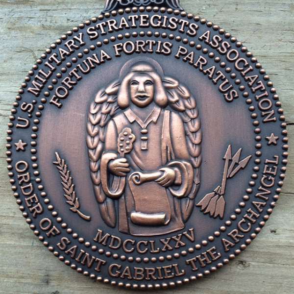 order of saint gabriel the archangel; patron saint of the us military strategists association.
