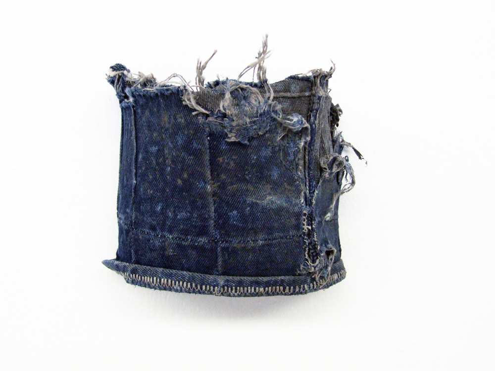 crown - denim fragment