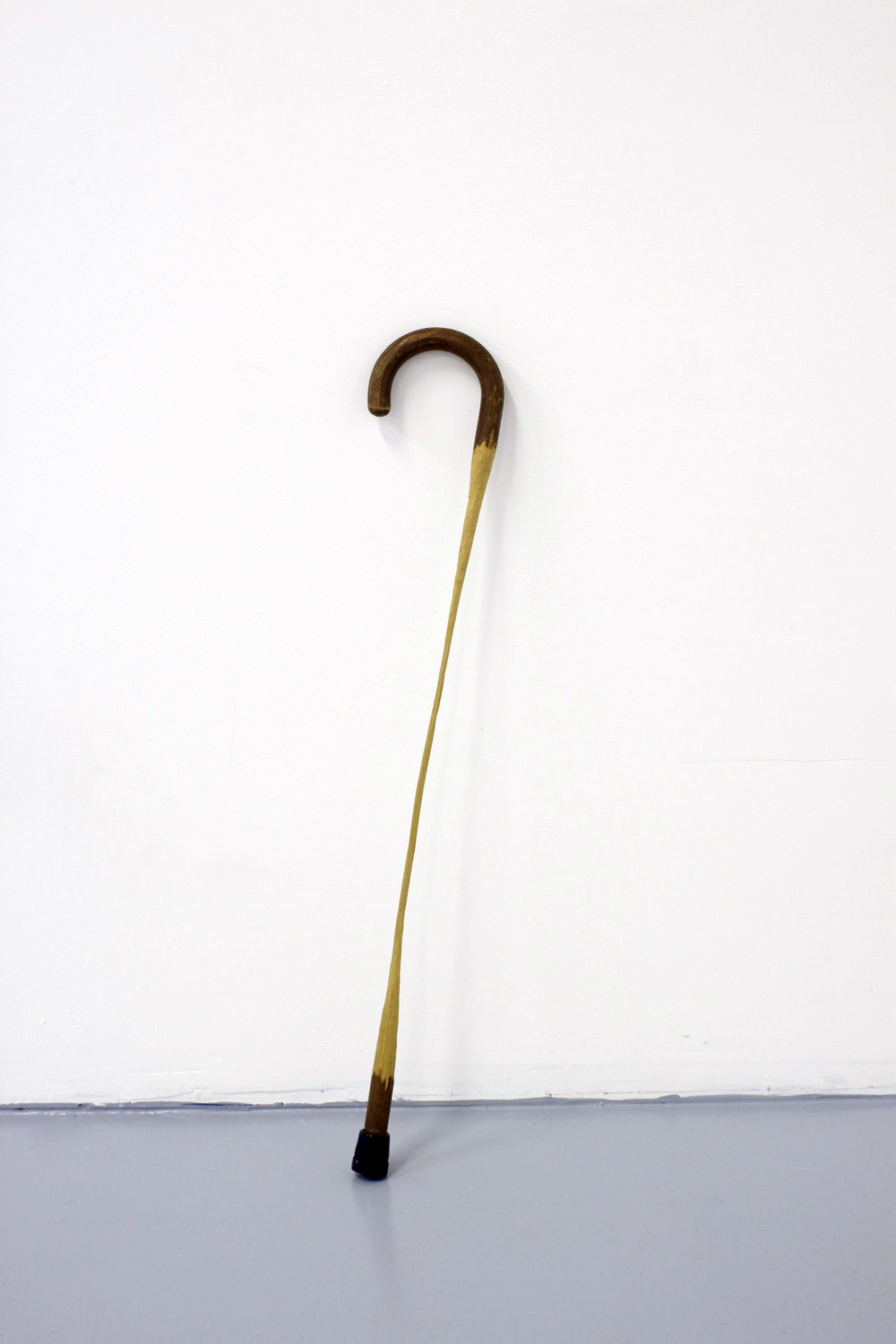 Untitled (Whittled Cane)