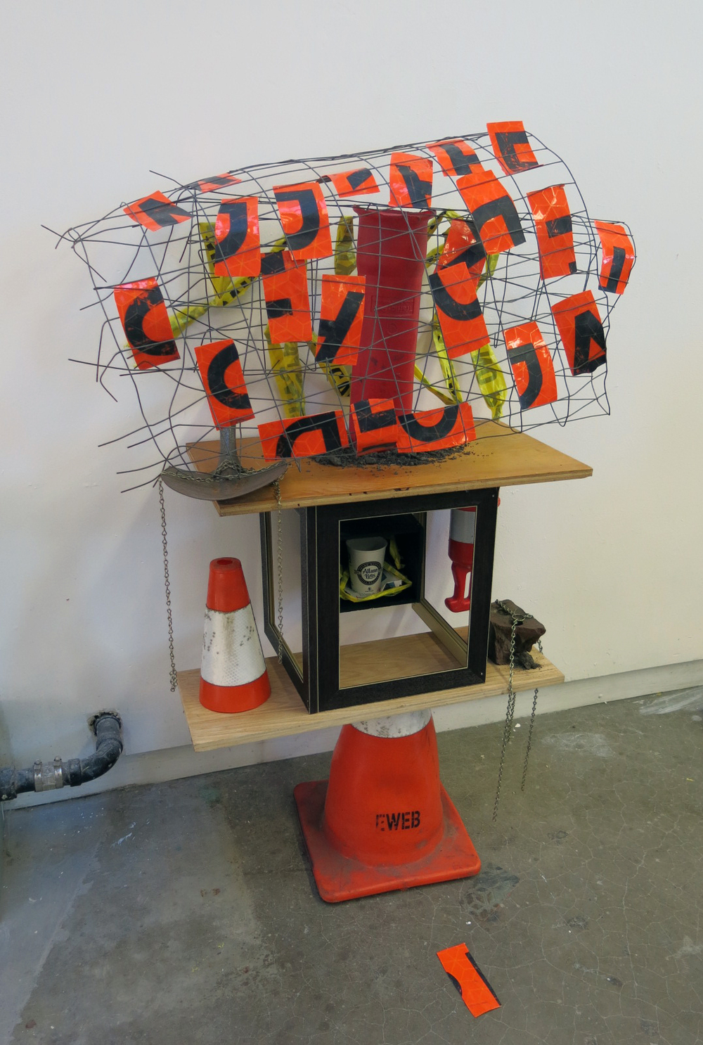 Sculpture 1, 288 - Mixed Media: Construction project and site exploration (2014)