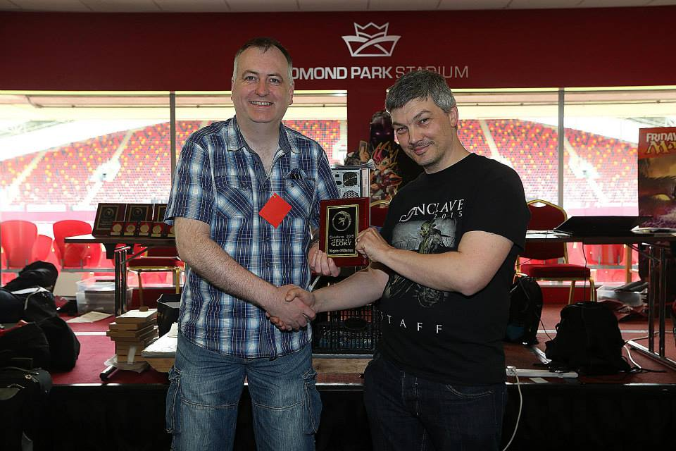 Field of Glory winner Willie Coughlan & Game organiser Aaron Leslie.jpg