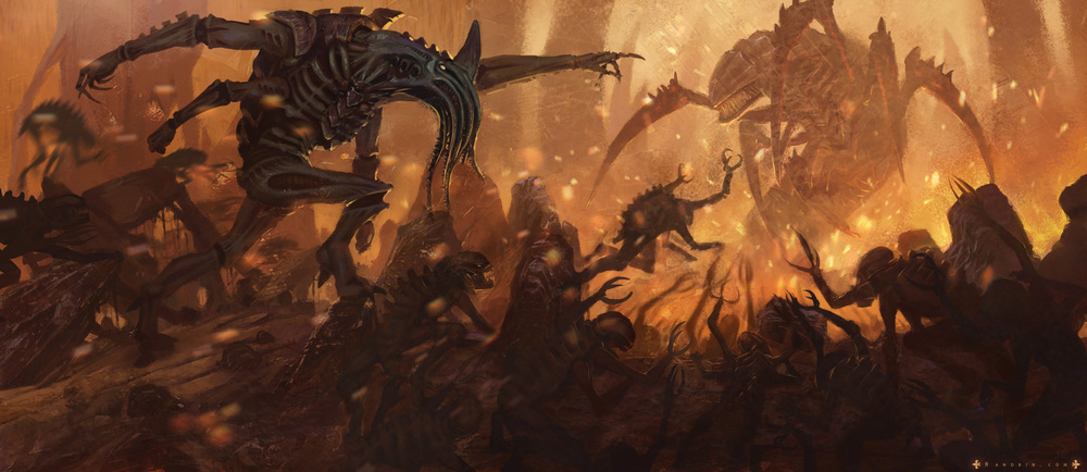 The Tyranid horde swarms to victory once more! ca anything halt their devouring of Espidus VIII?
