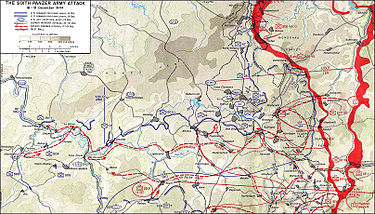 the northern shoulder of the battle of the bulge