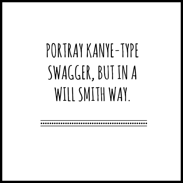 Kanye Swagger Will Smith Way