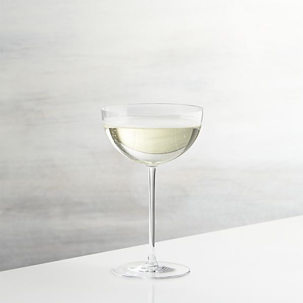 Crate & Barrel - Camille Champagne Coupes - $10.95