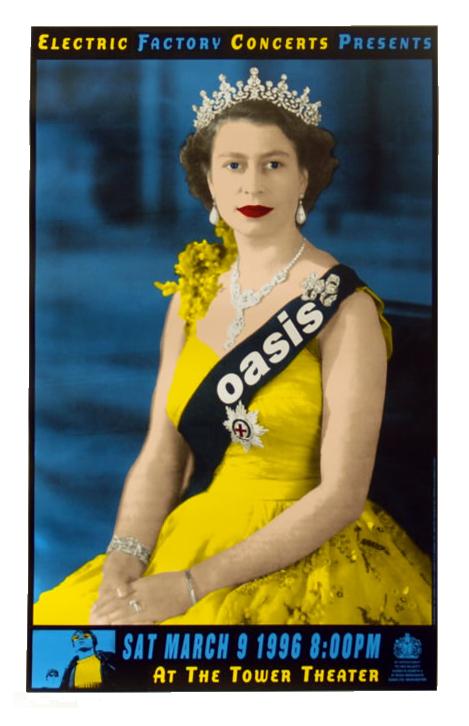 Cynthia Wigginton's poster for Oasis
