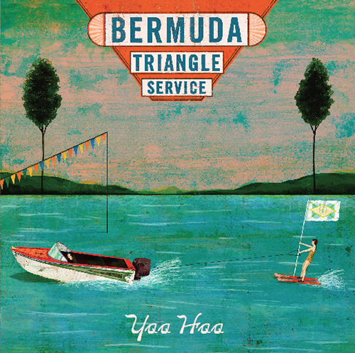 "Album packaging for ""Yoo Hoo,"" the latest album from Cynthia's band, Bermuda Triangle Service Illustrator: Christian Northeast Designer: Cynthia Wigginton"