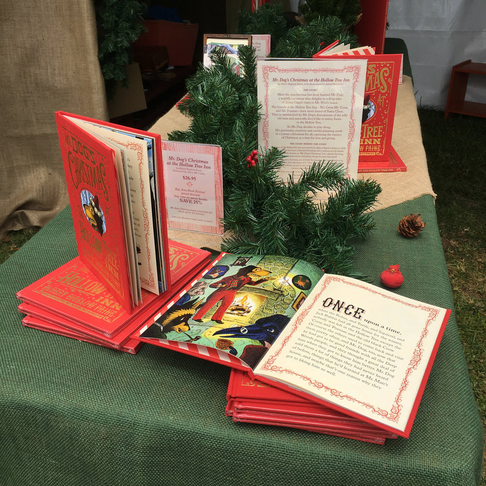 Our gorgeous book was beautifully displayed with Deep Woods trimmings.