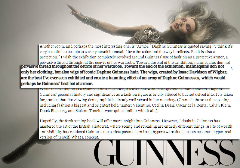 daphne guinness press
