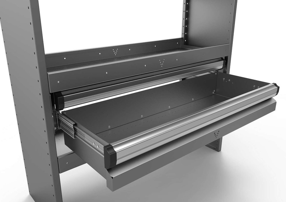 HEAVY-DUTY LOCK IN/LOCK OUT DRAWERS SYSTEM