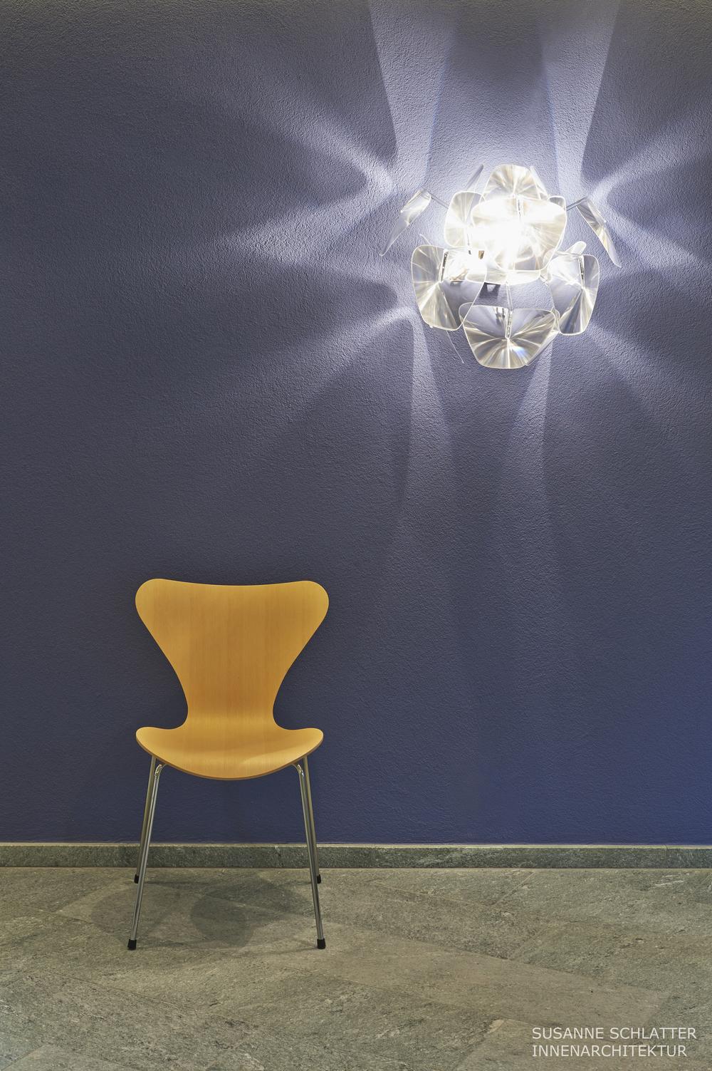 Neumöblierung, Farb- und Lichtkonzept