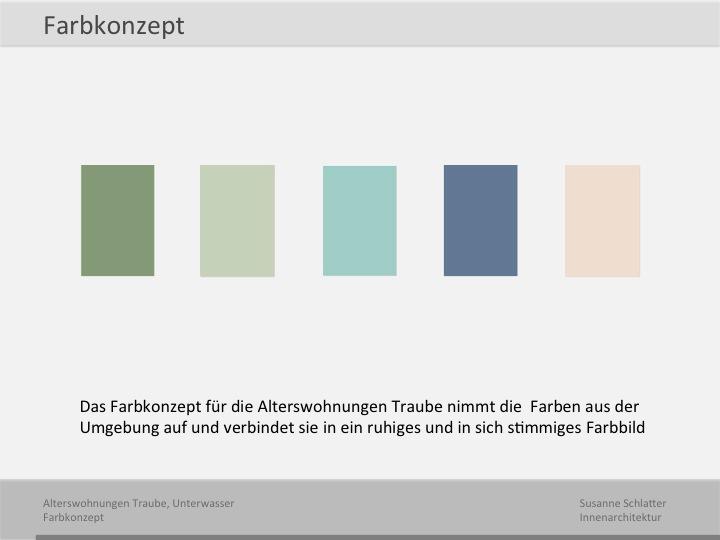 Weitere projekte susanne schlatter for Farbkonzept wohnung