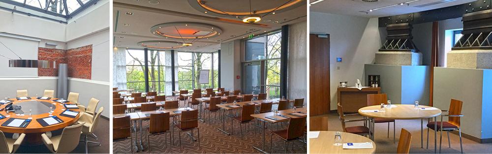 Impressionen aus den Schulungs- und Konferenzräumen