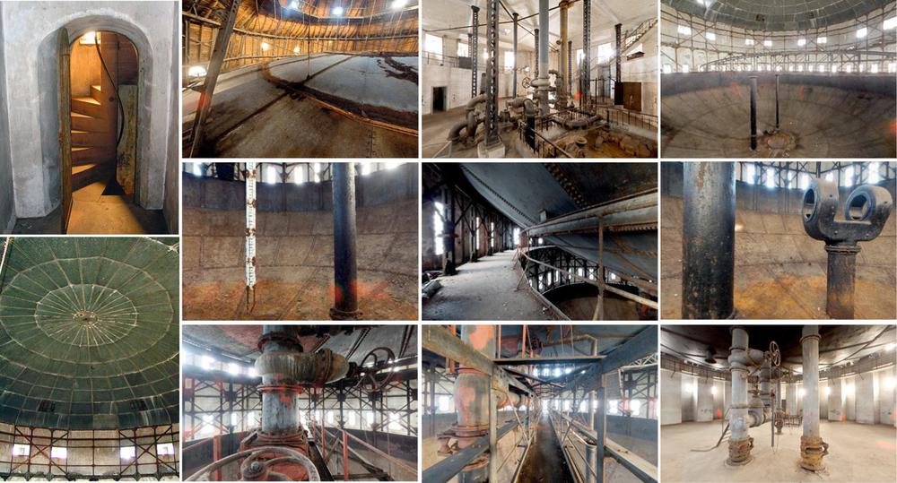 Impressionen des Wasserturms vor dem Umbau