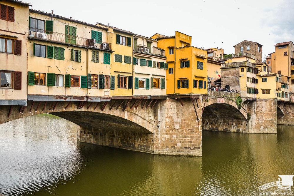 Ponte Vecchio, Florenz. Inspiration für Piet Blom. Bildquelle: hallo welt.cc