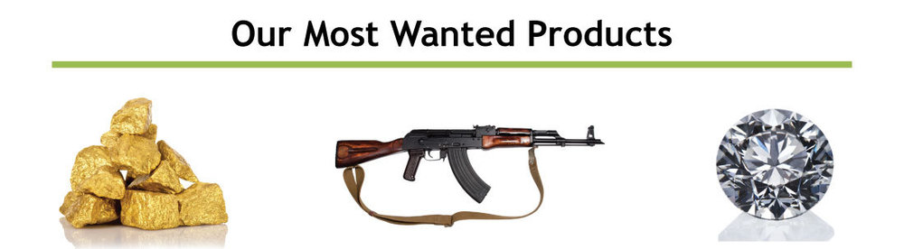 Gold, Guns, Diamonds, Jewelry are some of our most wanted pawn items. We give more for guns, gold, jewelry.