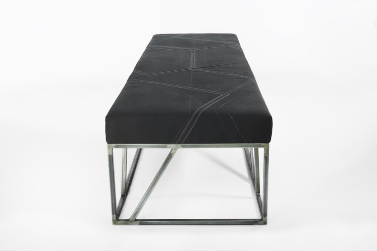 Ottoman for Converse new world headquarters at the new Lovejoy Wharf  building in Boston Massachusetts. 0aec03d7d