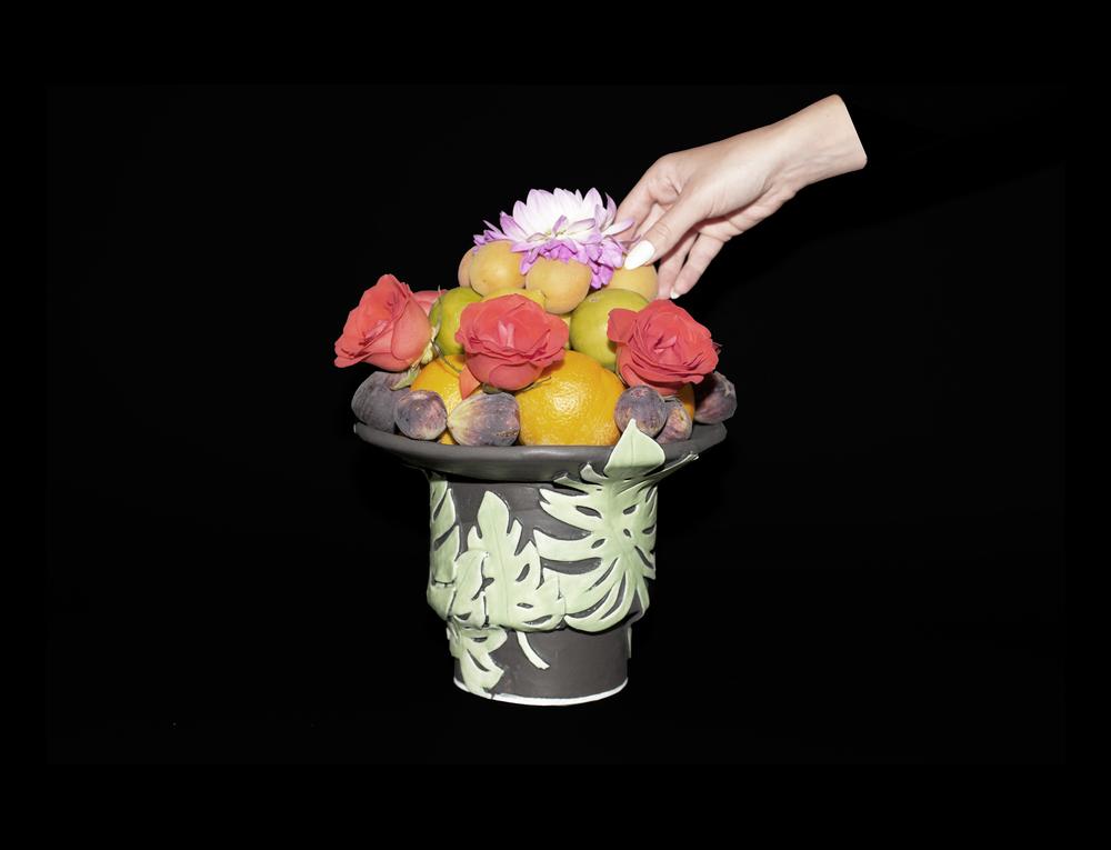 FOLIUM  Handbuilt porcelain & glaze