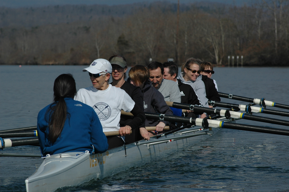 ORRA Rowers and Learn to Row Guests on the water.  Click image for more pics.