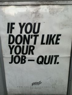 reasons for quitting job
