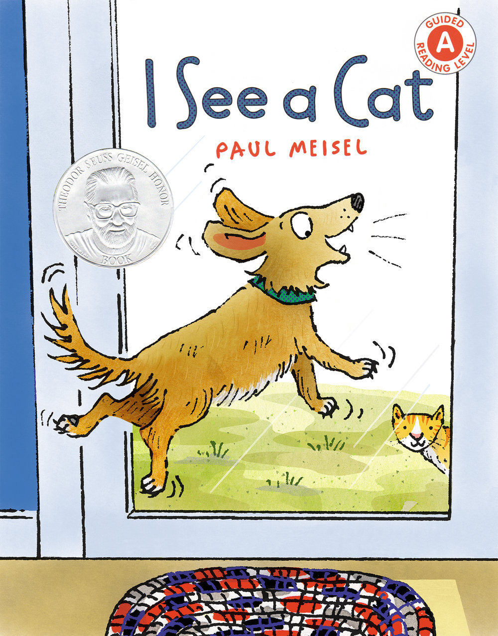 - So delighted that I See A Cat has received the Geisel Honor from ALA/Association for Library Service to Children!