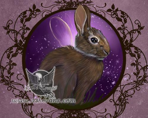 fairy bunny WIP