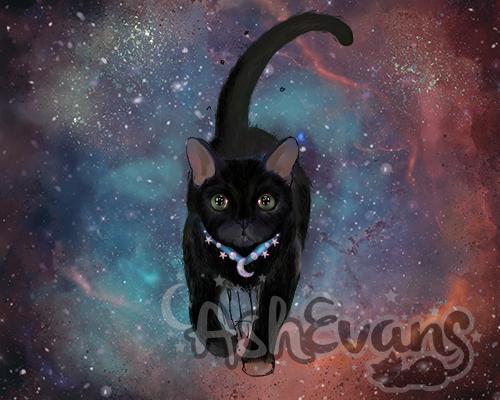 Celestial Kitty WIP